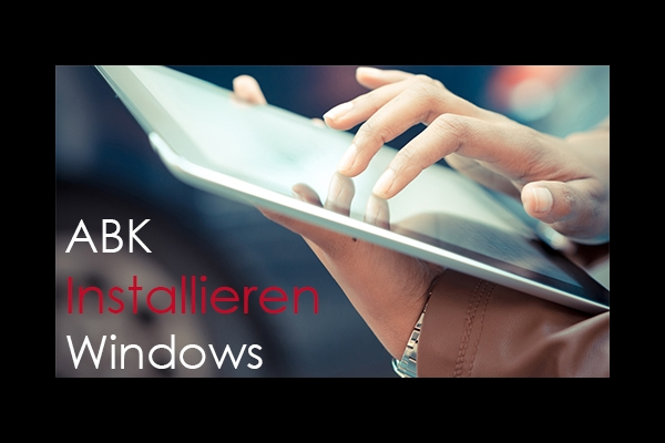 Erklärfilm ABK Ebook Installieren Windows